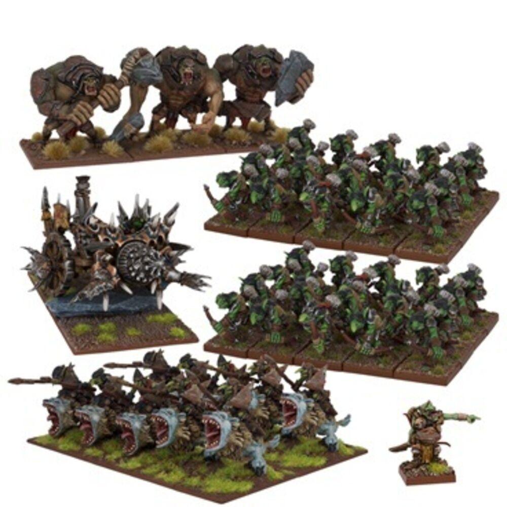 GOBLIN ARMY (2017) - KINGS OF WAR - MANTIC GAMES