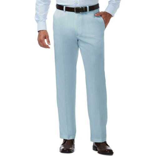Haggar Mens Gabardine Classic Fit Professional Dress Pants Trousers BHFO 8959