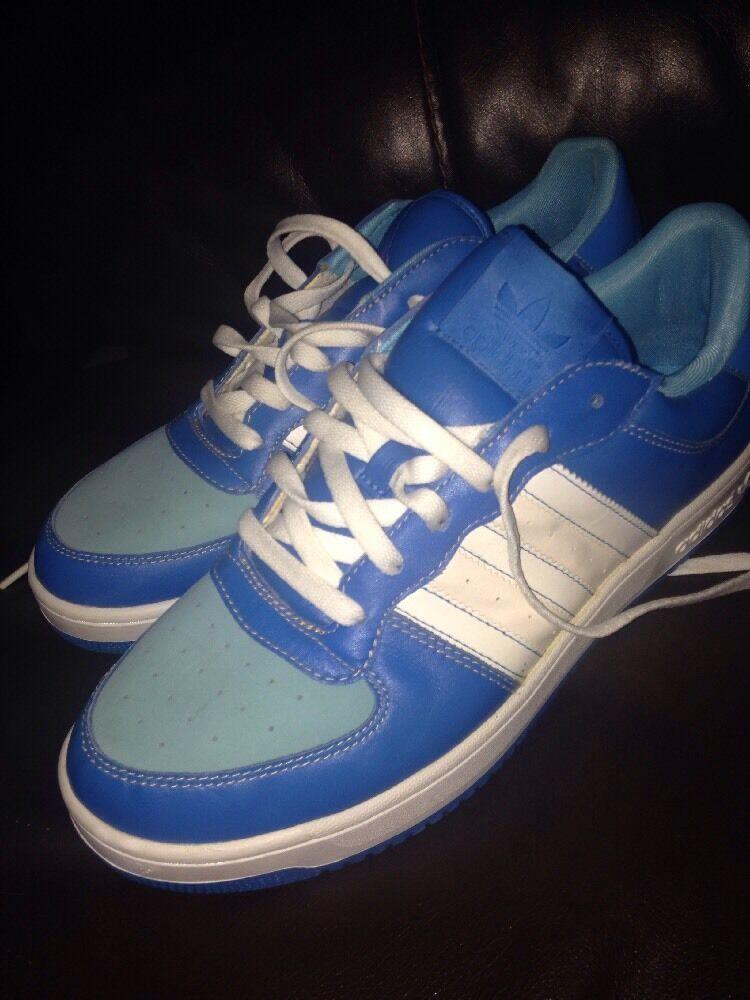 de rares hommes est adidas taille 11 bleu et et et blanc décontracté shell haut chaussures nouveau | Outlet Online  427bfe