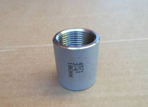 "L = 36 mm #2 Manchon 3//4/"" IG-IG en acier inoxydable 1.4571"
