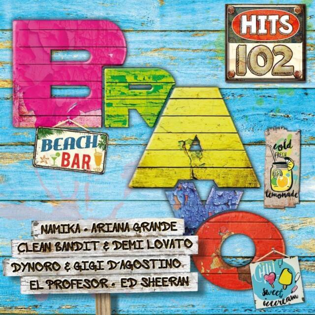 BRAVO HITS,VOL.102 - NAMIKA/DUA LIPA/DAVID GUETTA/ARIANA GRANDE/SIA/+ 2 CD NEW!