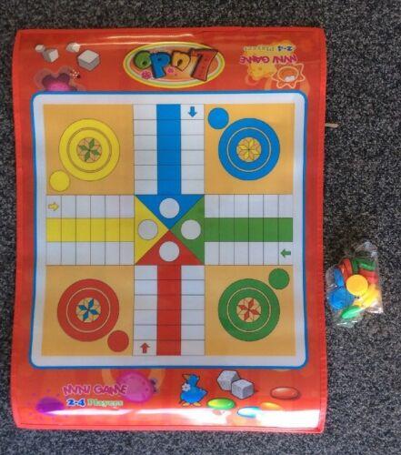 Snakes /& ladders ludo échecs tapis enfants imperméable sol tapis de jeu