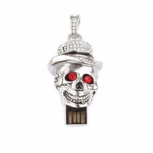 Skeleton-Head-Skull-USB-Flash-Drive-USB-2-0-Pen-Drive-Memory-Stick-U-Disk-Gift