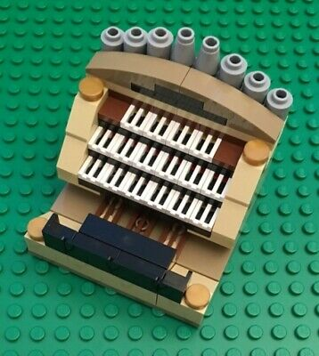 NEW LEGO Custom Pipe Organ as shown no instructions MUSIC INSTRUMENT