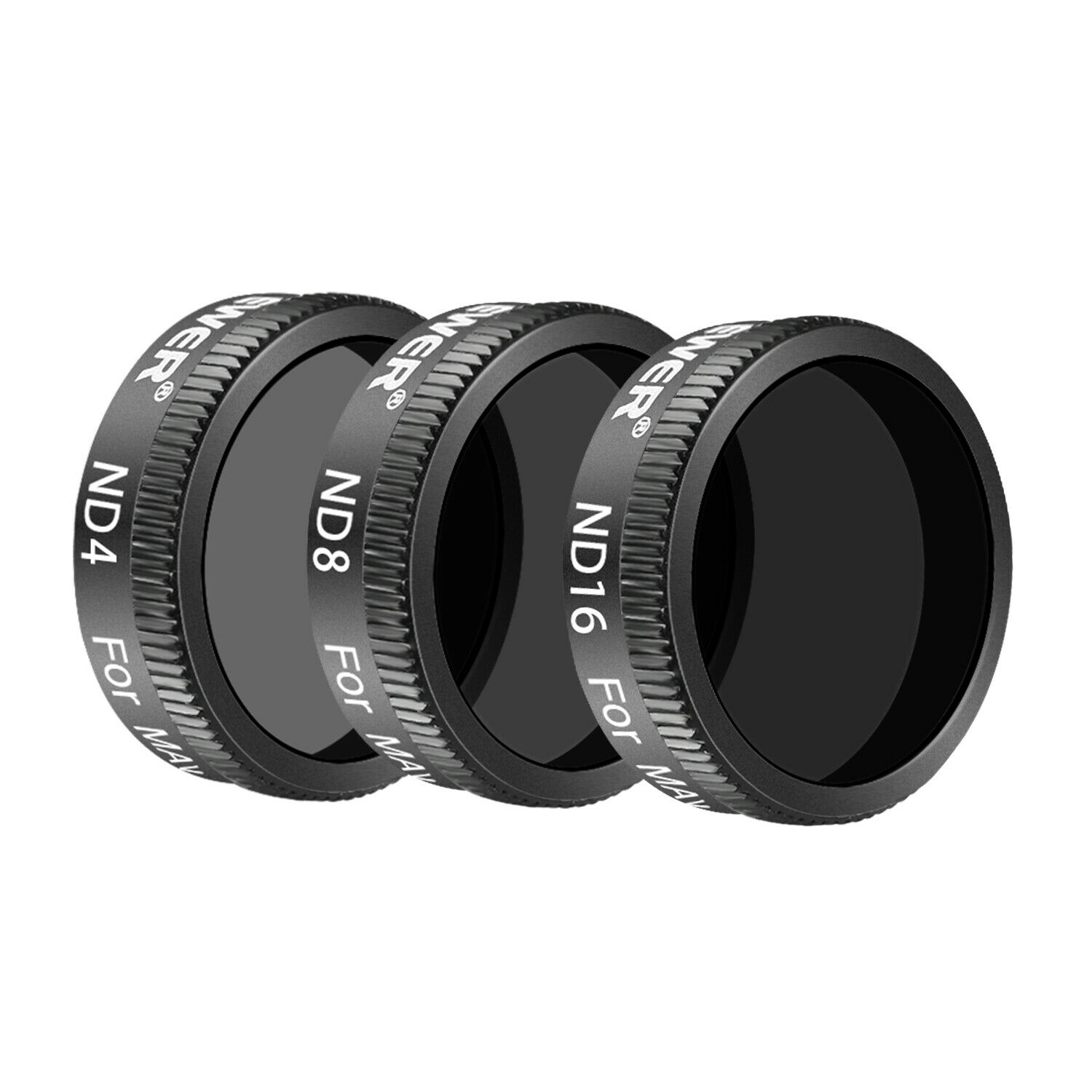 Yeefant4K ND8//ND16//CPL Waterproof Ultra-Thin Camera Lens Set Filters for DJI Mavic 2 Zoom ◆◆ Durable Aviation Aluminum Alloy Frame 3Pcs//Pack