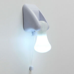 New-LED-Bulb-Cabinet-Wall-Mount-Table-Lamp-Night-Light-Battery-Self-Adhesive