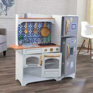 Kidkraft Kitchen Magnetic Tile Game Kids Play Kitchen Wood New Design Ebay