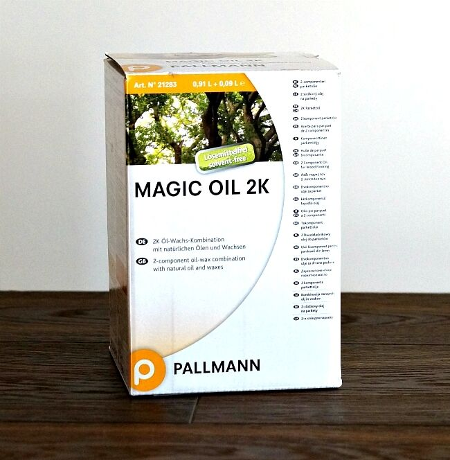 Pallmann Magic Oil 2K A/B A/B A/B natur 1L - Magic Öl  natural 24b2b9