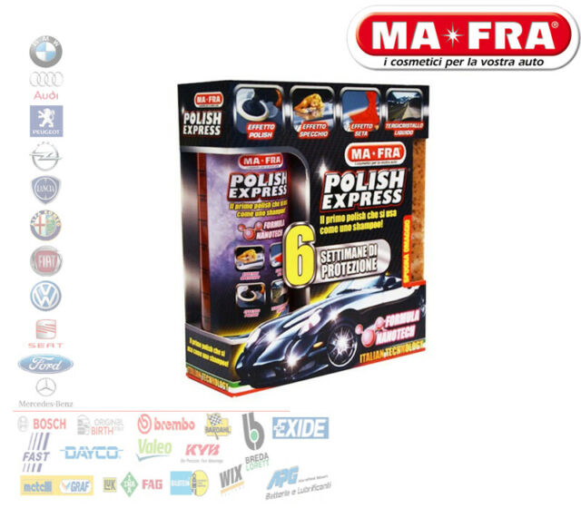 MA-FRA KIT POLISH EXPRESS LUCIDA AUTO CAMPER MOTO 250 ML H0420
