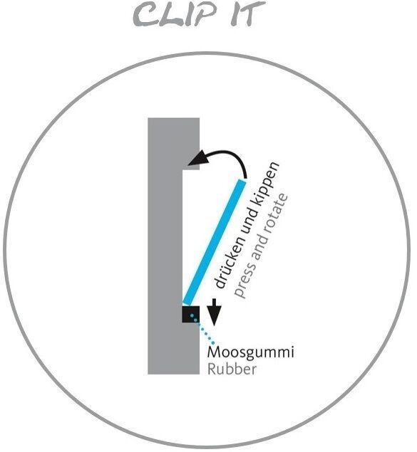 Clipboart ® FIXIE Maßanfertigung Wandhalterung Wandhalter Freeride Ski Touren Touren Touren d54de6