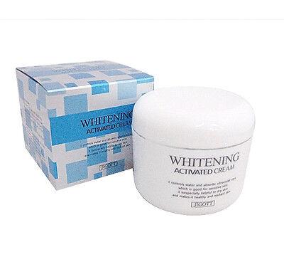 Korean Cosmetics Jigott Whitening Activated Cream 100g * 4pcs