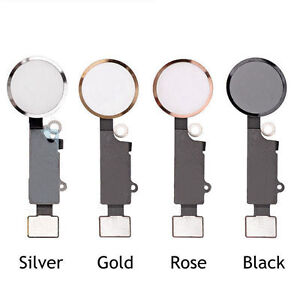 newest 4e706 225bb Details about OEM Home Button Main Key Flex Cable Replacement Assembly For  iPhone 7 & 7 Plus