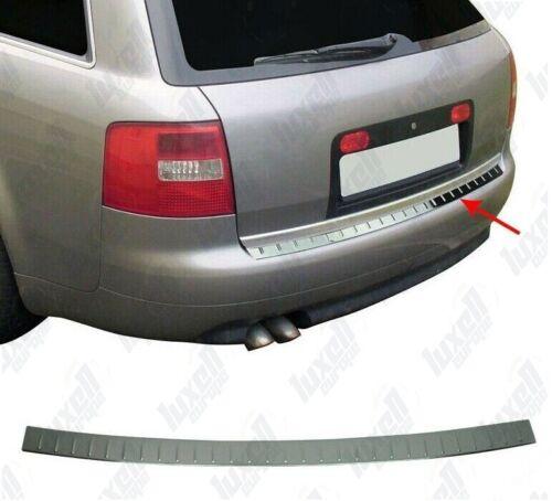 Audi A6 C5 4B Avant 1997-2005 Chrome Rear Bumper Protector Scratch Guard S.Steel