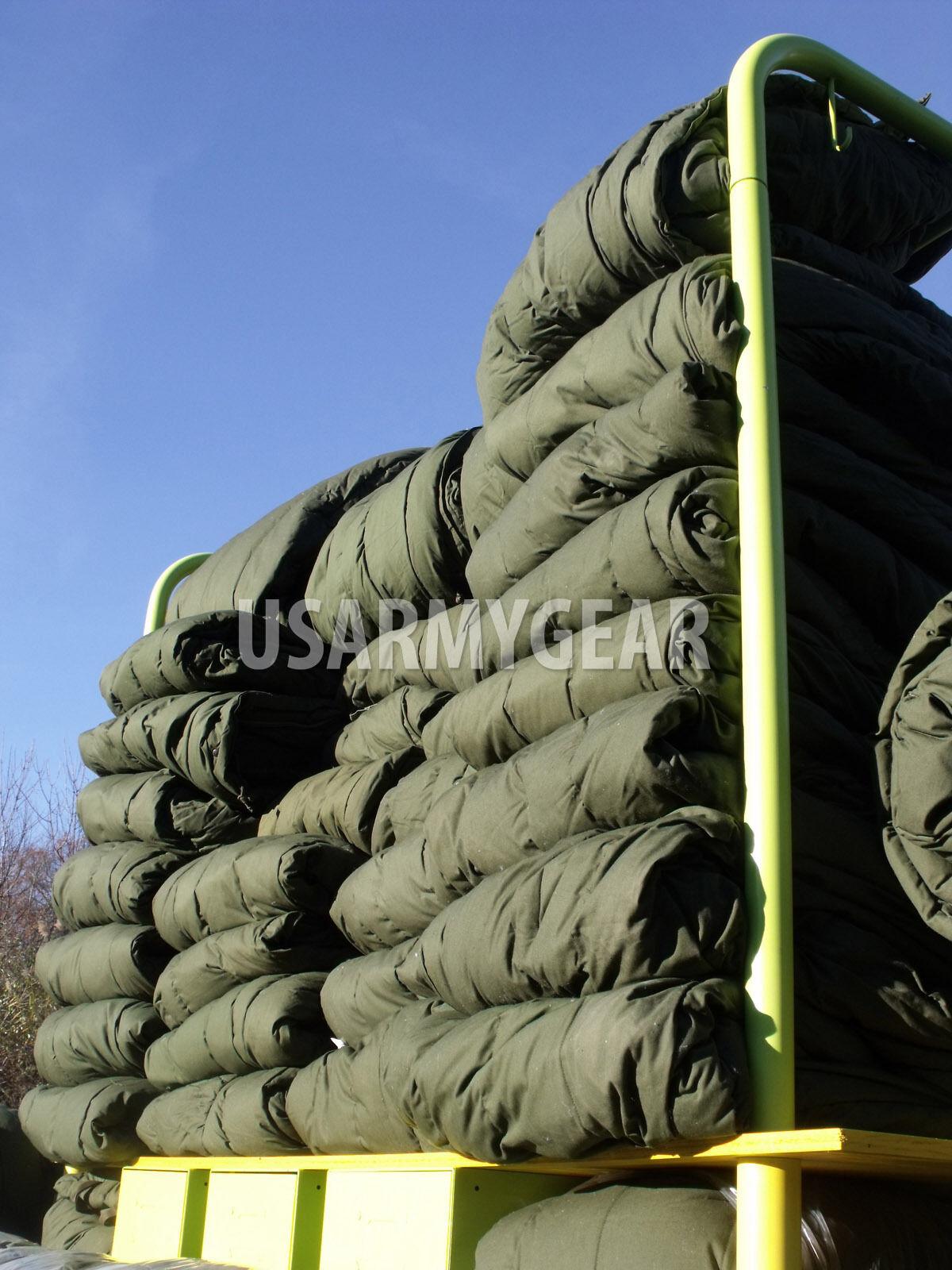 Made in USA USMC Army SUBZERO Extreme Cold Weather ECW Sleeping Bag w Hood -20F