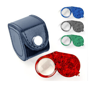 Jewellery Magnifier Jewellers Eye x10 Magnifying Glass Triplet Type Loupe