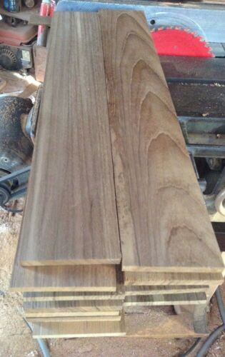Exotic Wood Premium Marine Teak Lumber  3 & 3/4 X 15 X 1/4