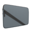 thumbnail 1 - Nintendo 2DS XL Soft Sleeve Carrying Case/Cover w/ Accessory Pocket (Gray/Black)