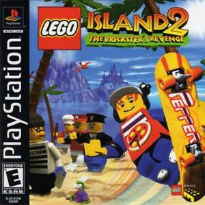 Lego-Island-2-The-Brickster-039-s-Revenge-PS1-Great-Condition-Complete-Fast-Shipping