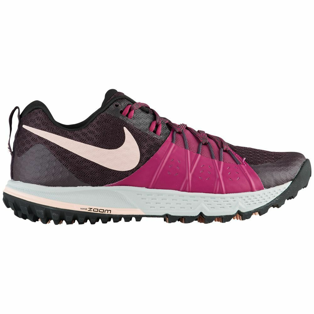 Nike Air Zoom Wildhorse 4 Womens 880566-601 Tea Berry Wine Trail shoes Size 10