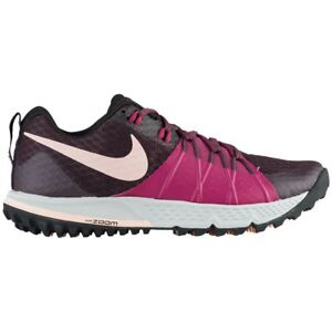 5d53ede9ded Nike Air Zoom Wildhorse 4 Womens 880566-601 Tea Berry Wine Trail ...