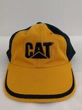 4d7dd49a5519f item 2 Vintage CAT Caterpillar Hat Yellow Black logo adjustable Baseball  Trucker Cap -Vintage CAT Caterpillar Hat Yellow Black logo adjustable  Baseball ...