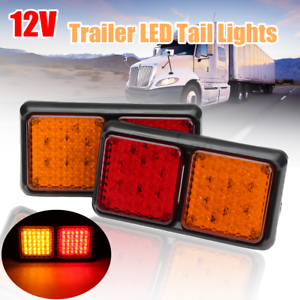 2x-LED-TRAILER-LIGHTS-TAIL-LAMP-STOP-INDICATOR-12V-VOLT-FOR-CAMPER-UTE-AU