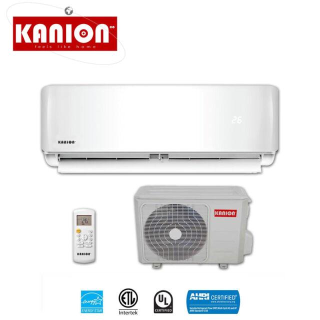 24000 Btu Ductless Ac Mini Split Heat Pump Air Conditioner Kanion 16 Seer For Sale Online