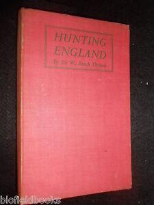 Hunting-England-Sir-William-Beach-Thomas-1936-1st-Fox-Stag-Horse-Batsford