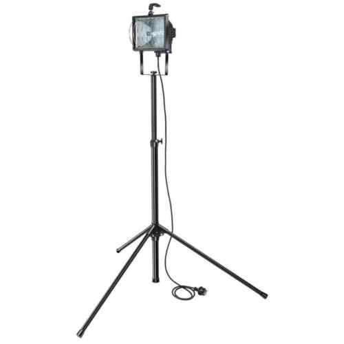 Brennenstuhl Projecteur à Halogène avec Trépied IP54 400 W Eclairage Maison
