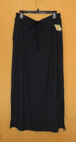 Live /& Let Live Relaxed river blue stretch full length long maxi plus skirt $78