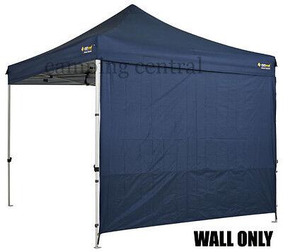 OZTRAIL 3M (BLUE) GAZEBO WALL HEAVY DUTY DELUXE Pavilion Solid 3mtr Wall Walls