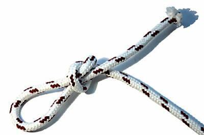 0,46EUR//m d10mm-100m Polyester Tauwerk Seil Segeltauwerk Festmacher Reepschnur