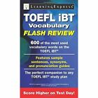 TOEFL iBT Vocabulary Flash Review by LearningExpress LLC (Paperback, 2014)