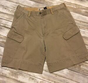 Gap-Mens-Size-36-W-Khaki-Cargo-Shorts