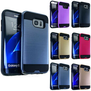 High-Impact-Hybrid-Dual-Shock-Armor-Hard-TPU-Brushed-Cover-Case-for-Cell-Phones