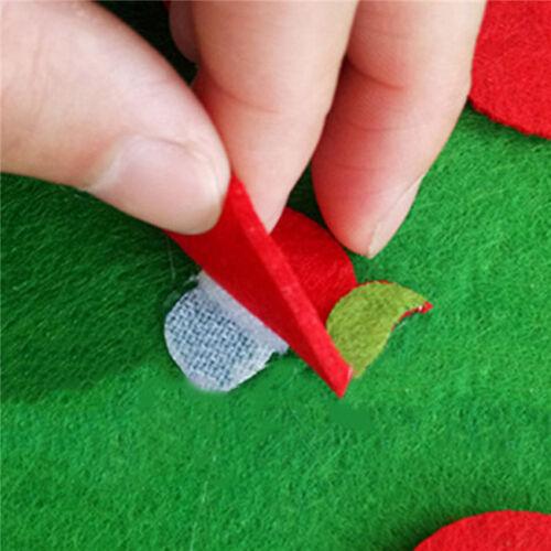 Montessori Apple Tree Puzzle Kids 1 Set Intelligence Developed Teaching Toy LI
