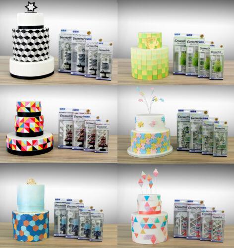 PME Geometric Multi Cutter Sugarcraft Cake Icing Decorating Design 24 Options