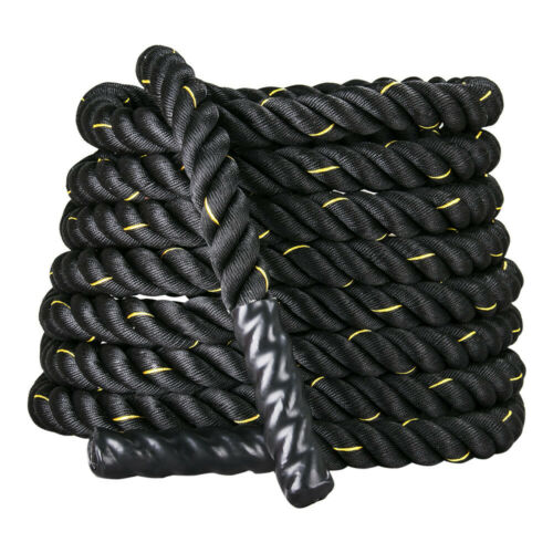 38mm Poly 9//12//15M Battle Rope Workout Strength Training Fitness Undulation Rop