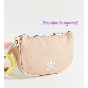 566abc688b Image is loading ADIDAS-Women-Originals-Pouch-Bag-Sporty-Charm-Practical-