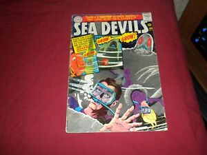Sea-Devils-27-dc-1966-silver-age-3-5-vg-comic-Lots-of-Sea-Devils-listed-WOW