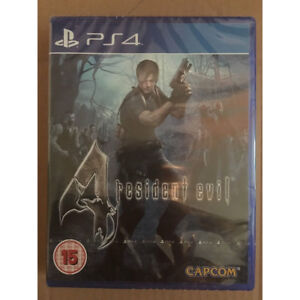 Resident-Evil-4-HD-Remastered-PS4-New-and-Sealed