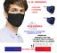 miniature 16 - 10 MASQUES COTTON TISSU FILTRE LAVABLE ET 20 FILTRES CHARBON ACTIF PM2.5 FR