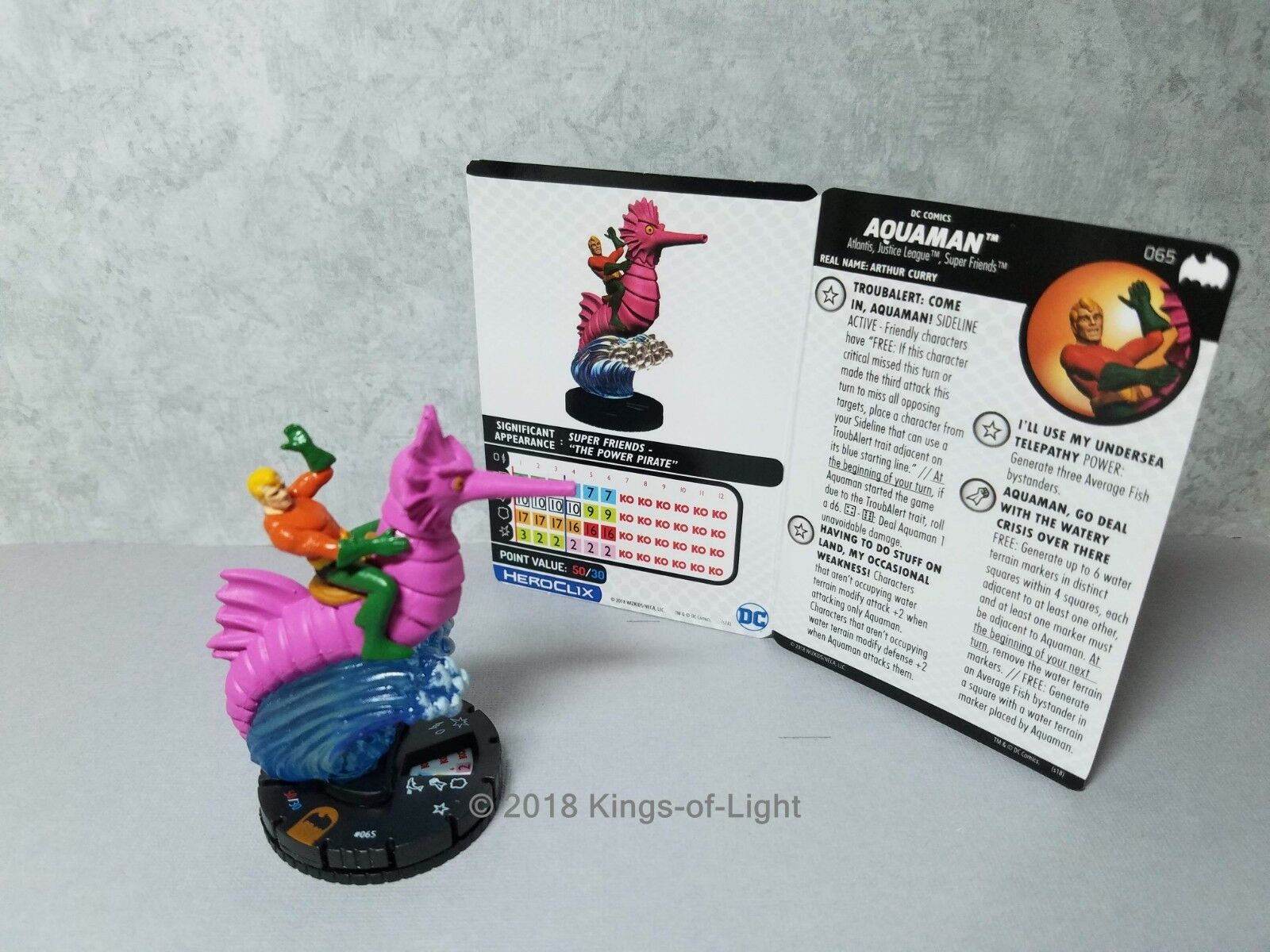 Aquaman - 065 - batman, der animierten serie heroclix chase