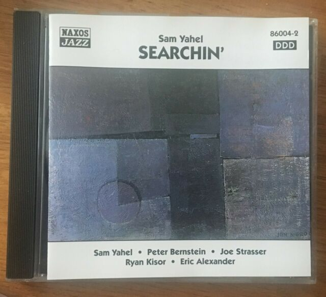 Sam Yahel - Searchin' CD Naxos Jazz