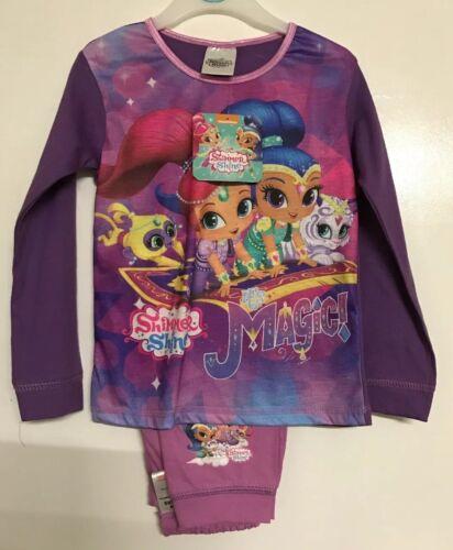BNWT Ragazze Shimmer /& Brillante con motivo Pigiama Set età 3-4 anni