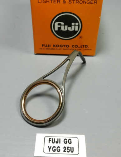 1pc Fuji Tackle YGG Gold Cermet Fishing Rod Guides Discontinued Choose Size