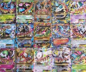 80-Pokemon-Cards-in-folder-1-MEGA-EX-23-Rare-Holos-Rev-Holos-CHRISTMAS-GIFT