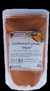 """Forelle Fischgrillwurst Fischgewürz Fischbratwurst-Gewürz /""""Pikant/"""" 200g"""