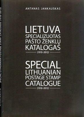 Lithuania Litauen Litwa Litouwen Special catalog catalogue katalog 1918-2012