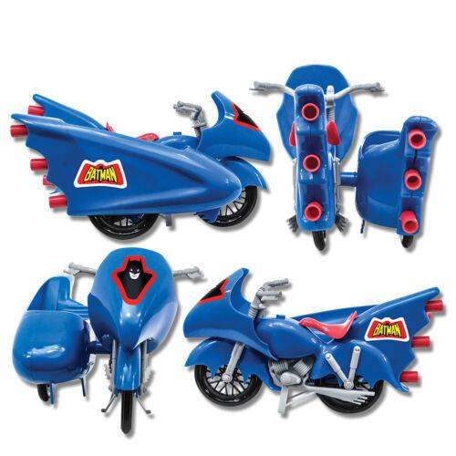 Blue by FTC DC Comics Retro Batman Batcycle Playset